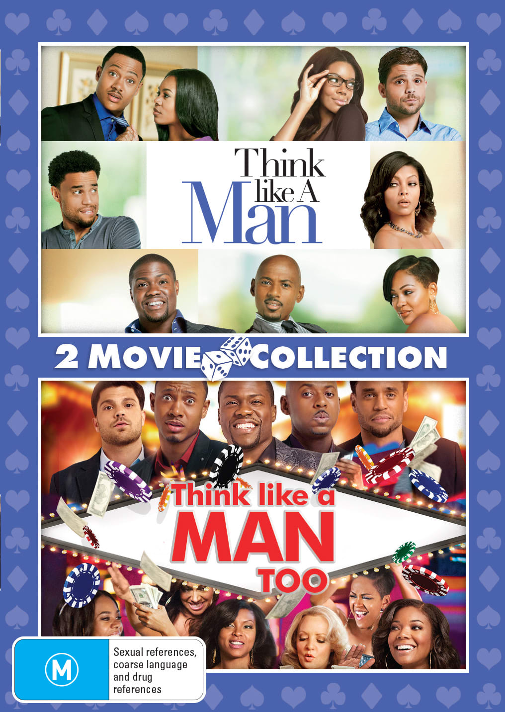 Think Like a Man/Think Like a Man Too [DVD]