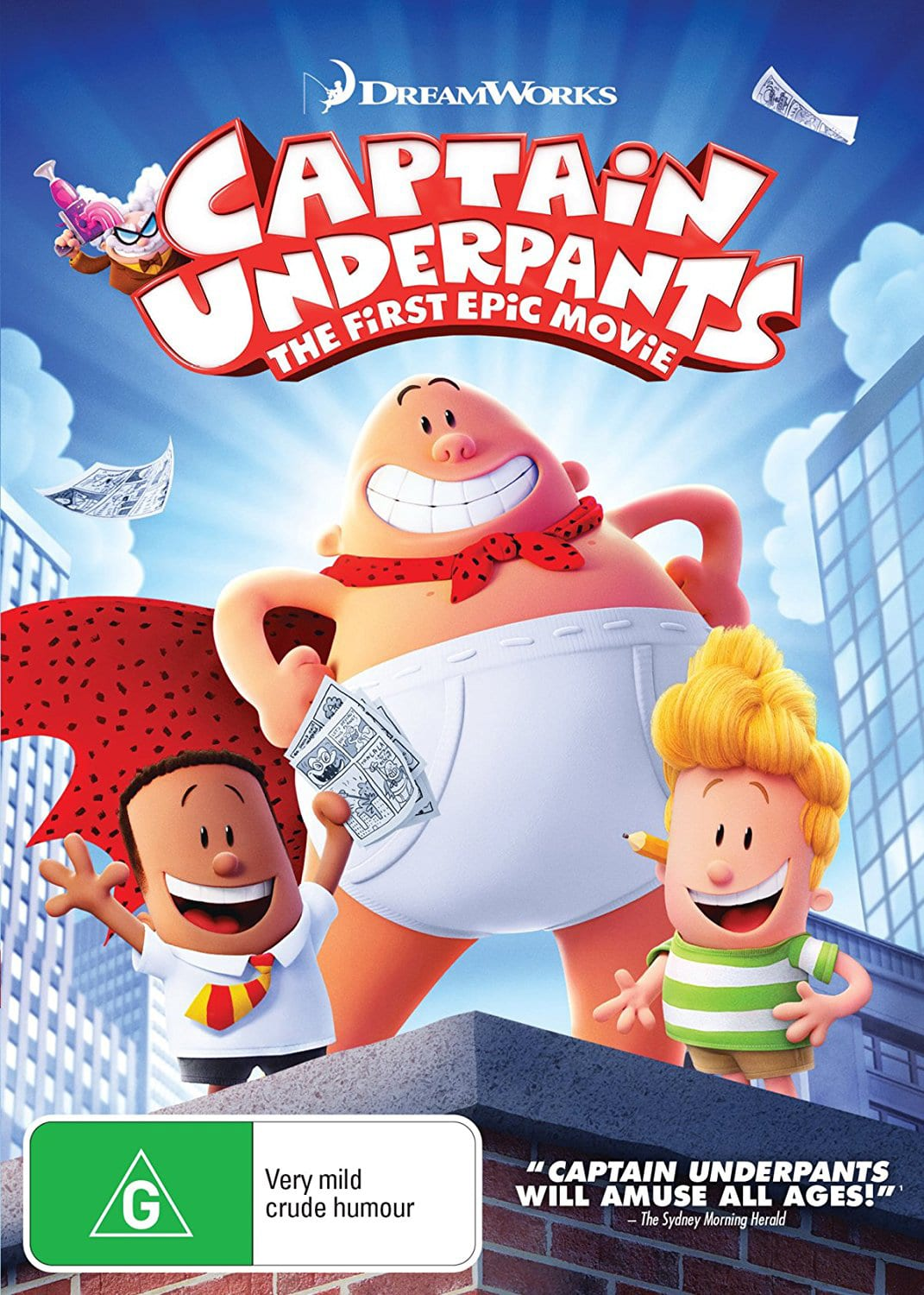 Captain Underpants: The First Epic Movie [DVD]