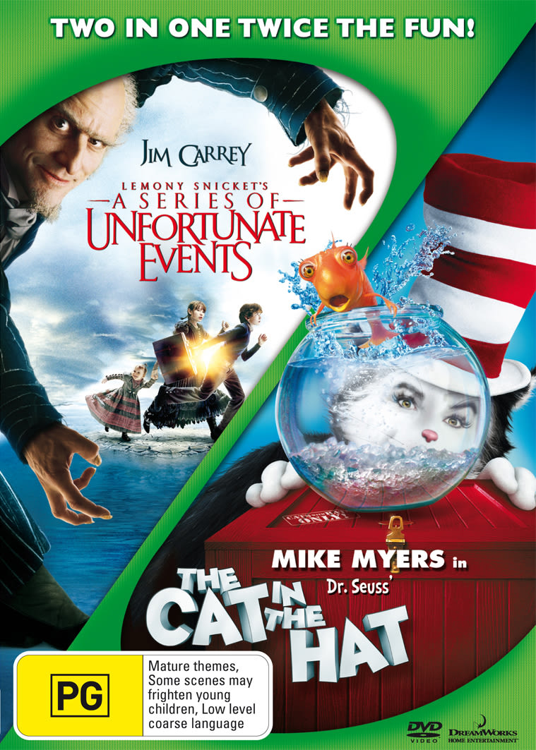 Lemony Snicket's a Series of Unfortunate Events/The Cat in The... [DVD]