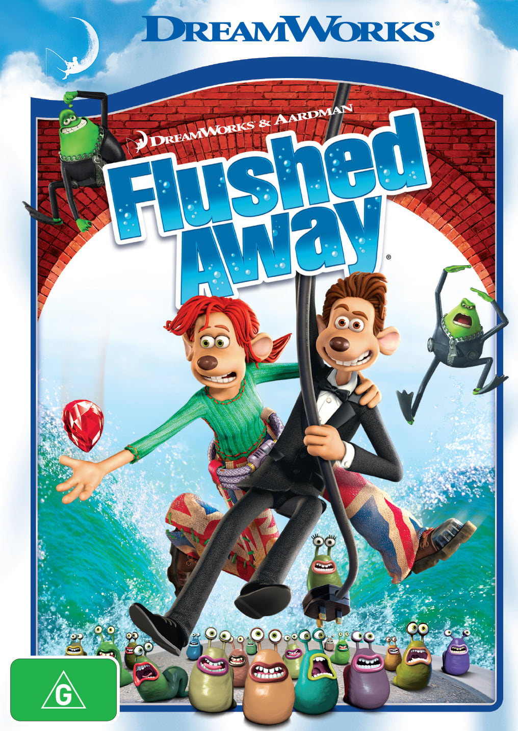 Flushed Away [DVD]