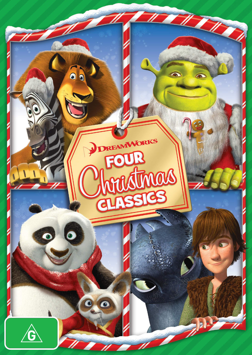 Dreamworks - Four Christmas Classics [DVD]