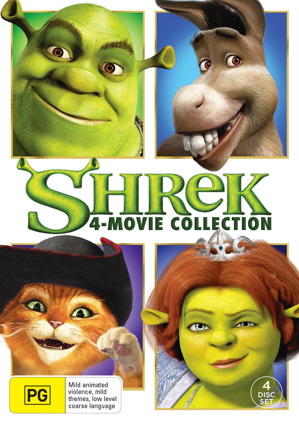 Shrek: The 4-movie Collection (Box Set) [DVD]