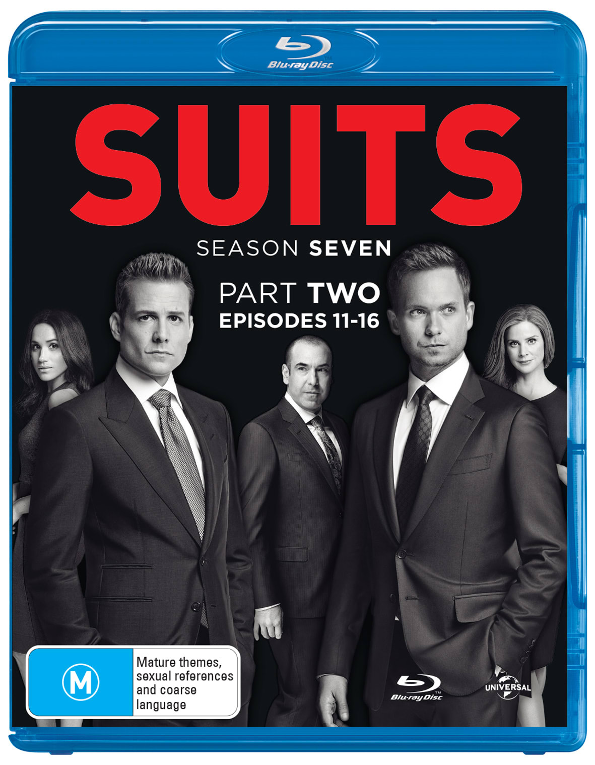Suits: Season Seven, Part Two [Blu-ray]