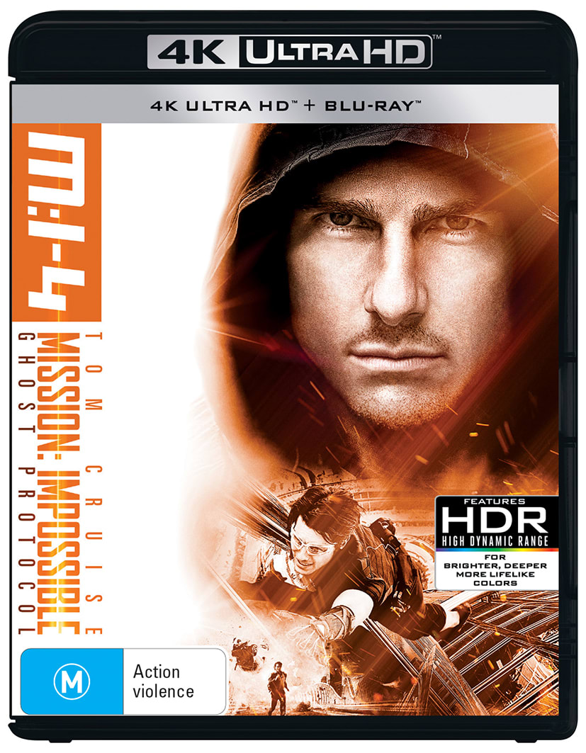 Mission: Impossible - Ghost Protocol (4K Ultra HD + Blu-ray) [UHD]
