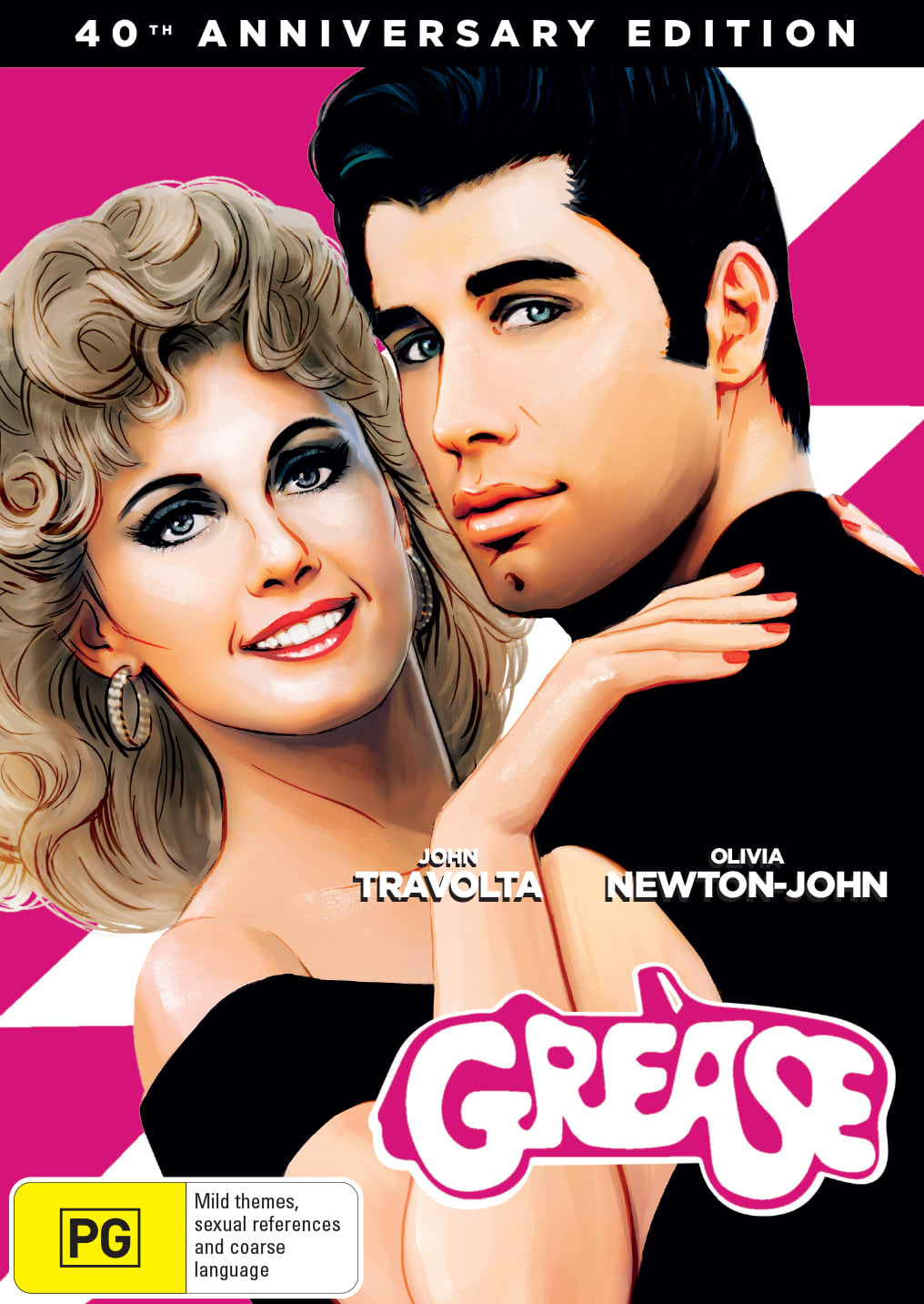 Grease (40th Anniversary Edition) [DVD]