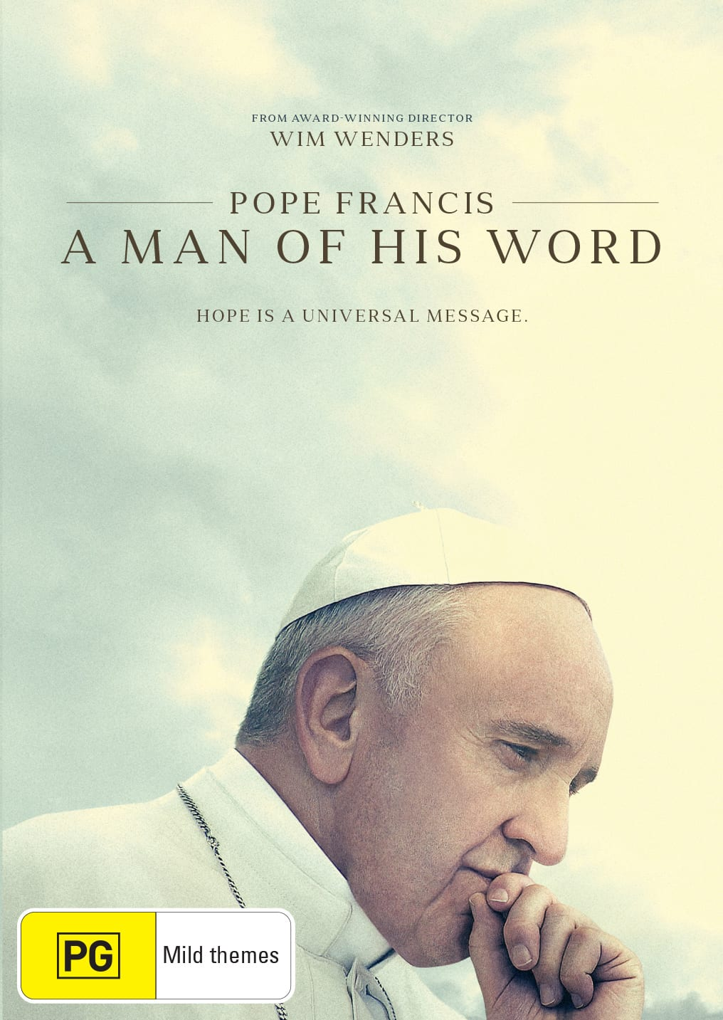 Pope Francis - A Man of His Word [DVD]