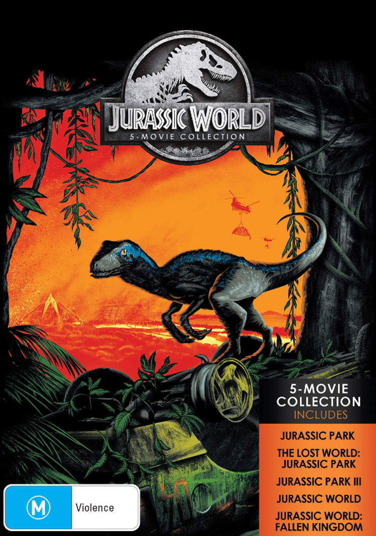 Jurassic World: 5-movie Collection (Box Set) [DVD]