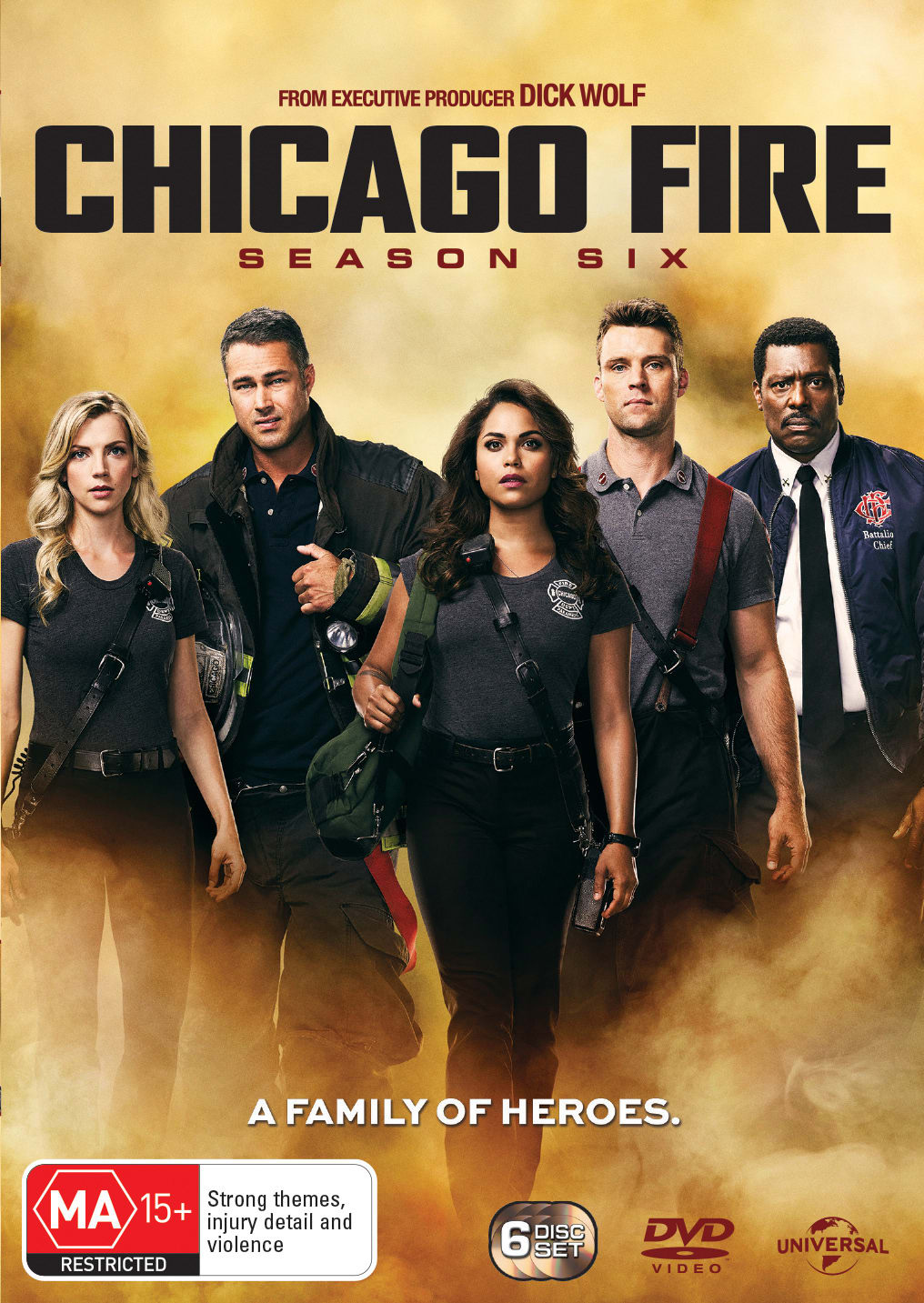 Chicago Fire: Season Six (Box Set) [DVD]