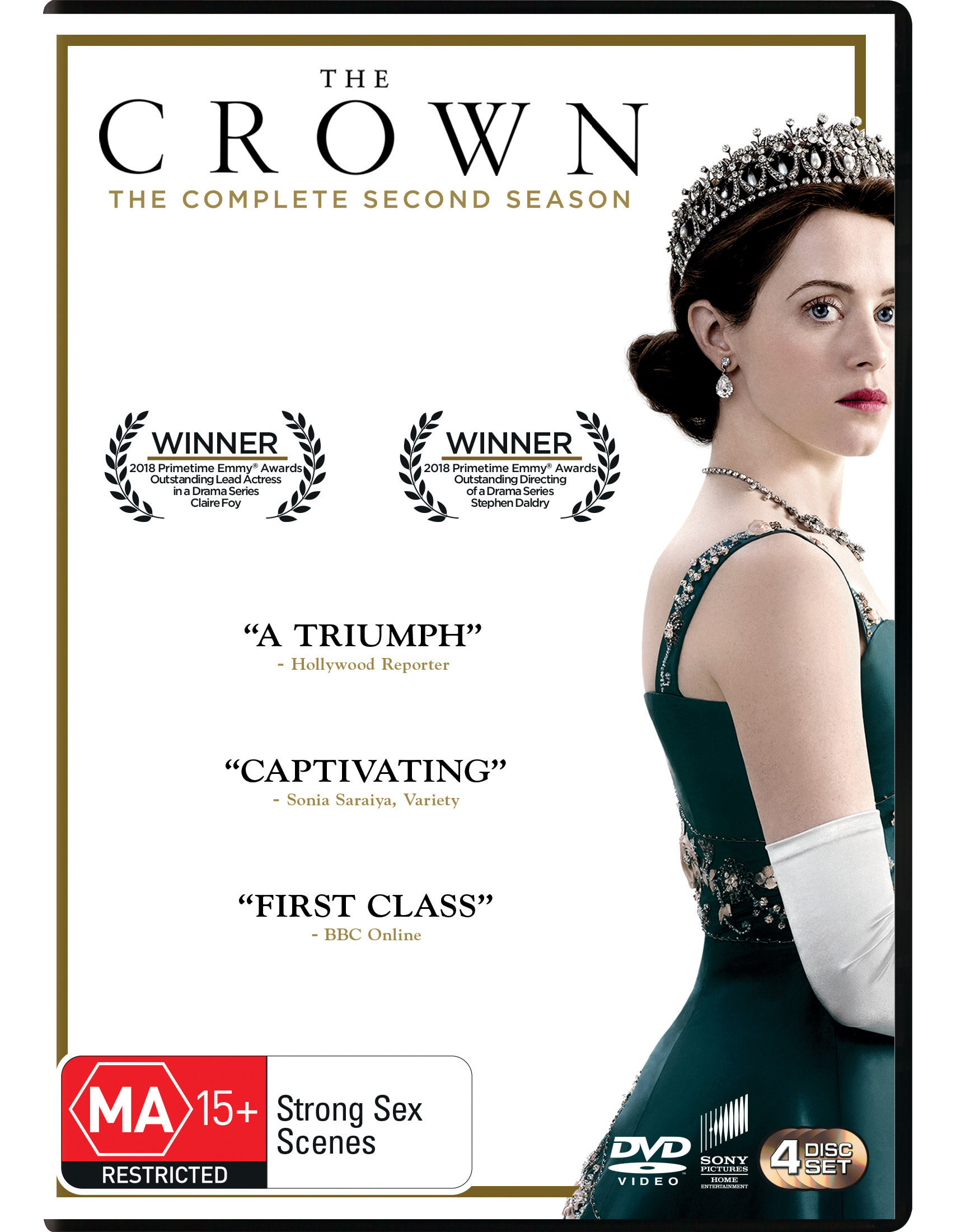 The Crown Season 2 [DVD]