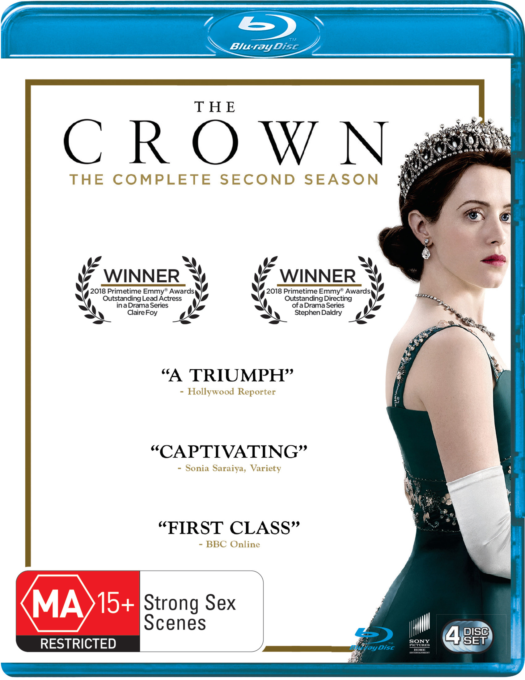The Crown Season 2 [Blu-ray]
