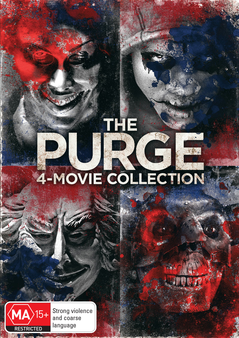 The Purge: 4-movie Collection (Box Set) [DVD]