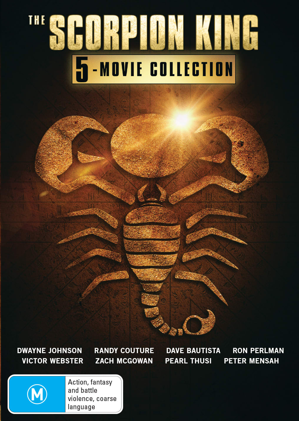 The Scorpion King: 5-movie Collection (Box Set) [DVD]