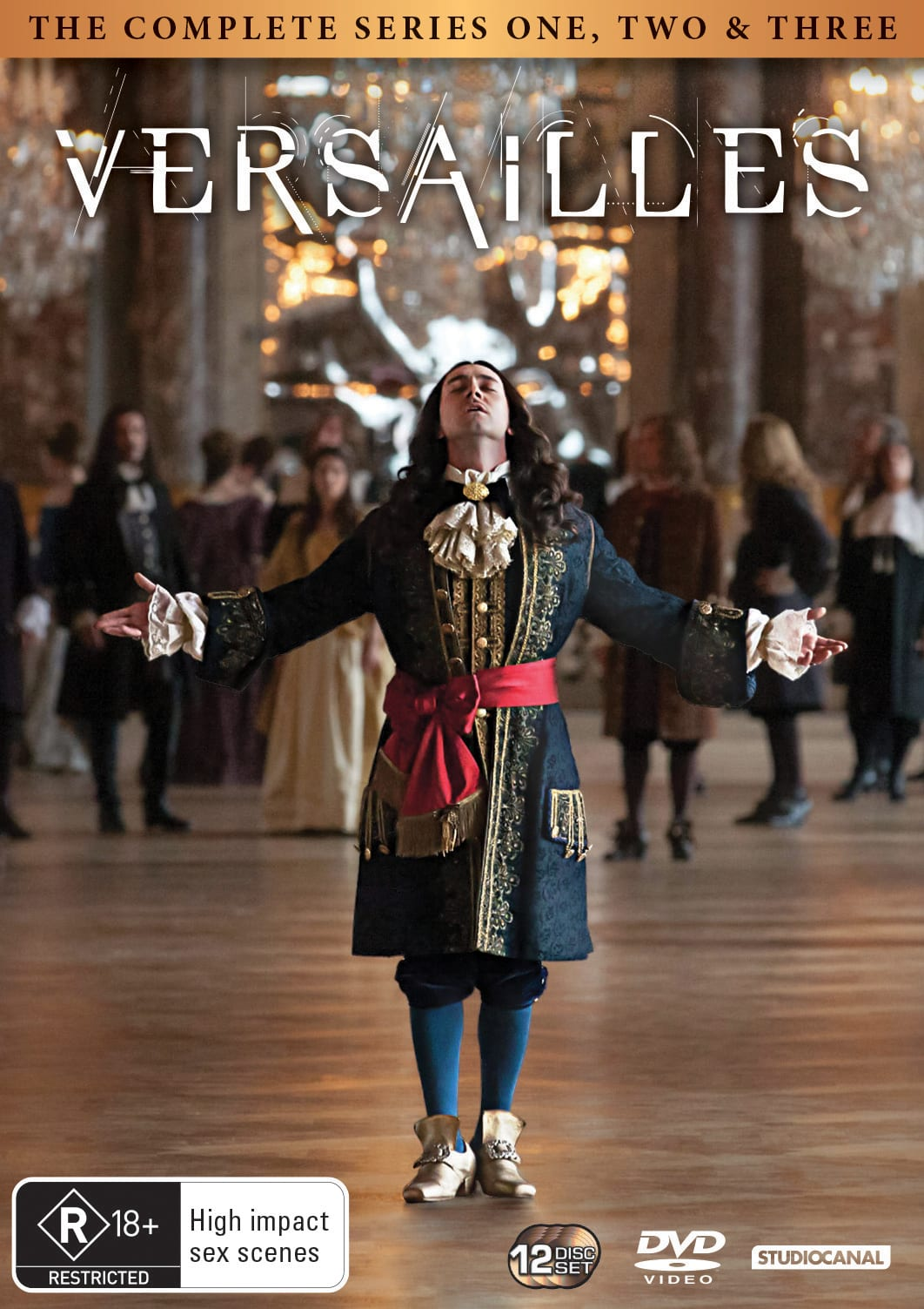 Versailles: The Complete Series One - Three (Box Set) [DVD]