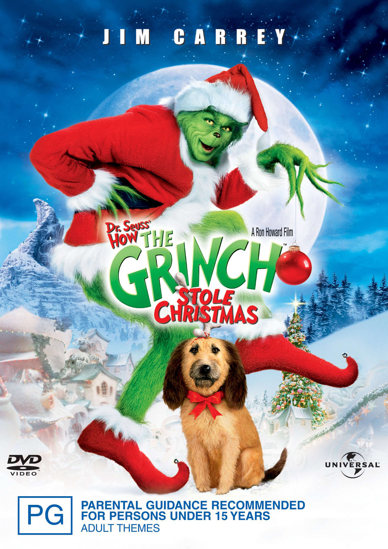 How the Grinch stole Christmas [DVD]