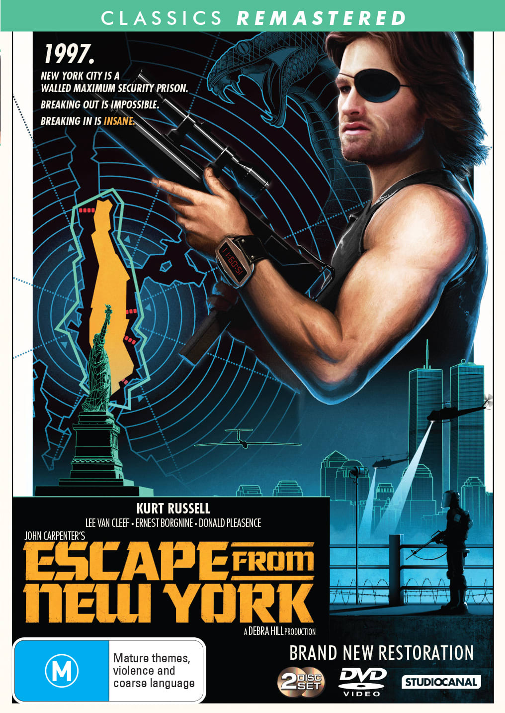John Carpenter's escape from New York                             [DVD]