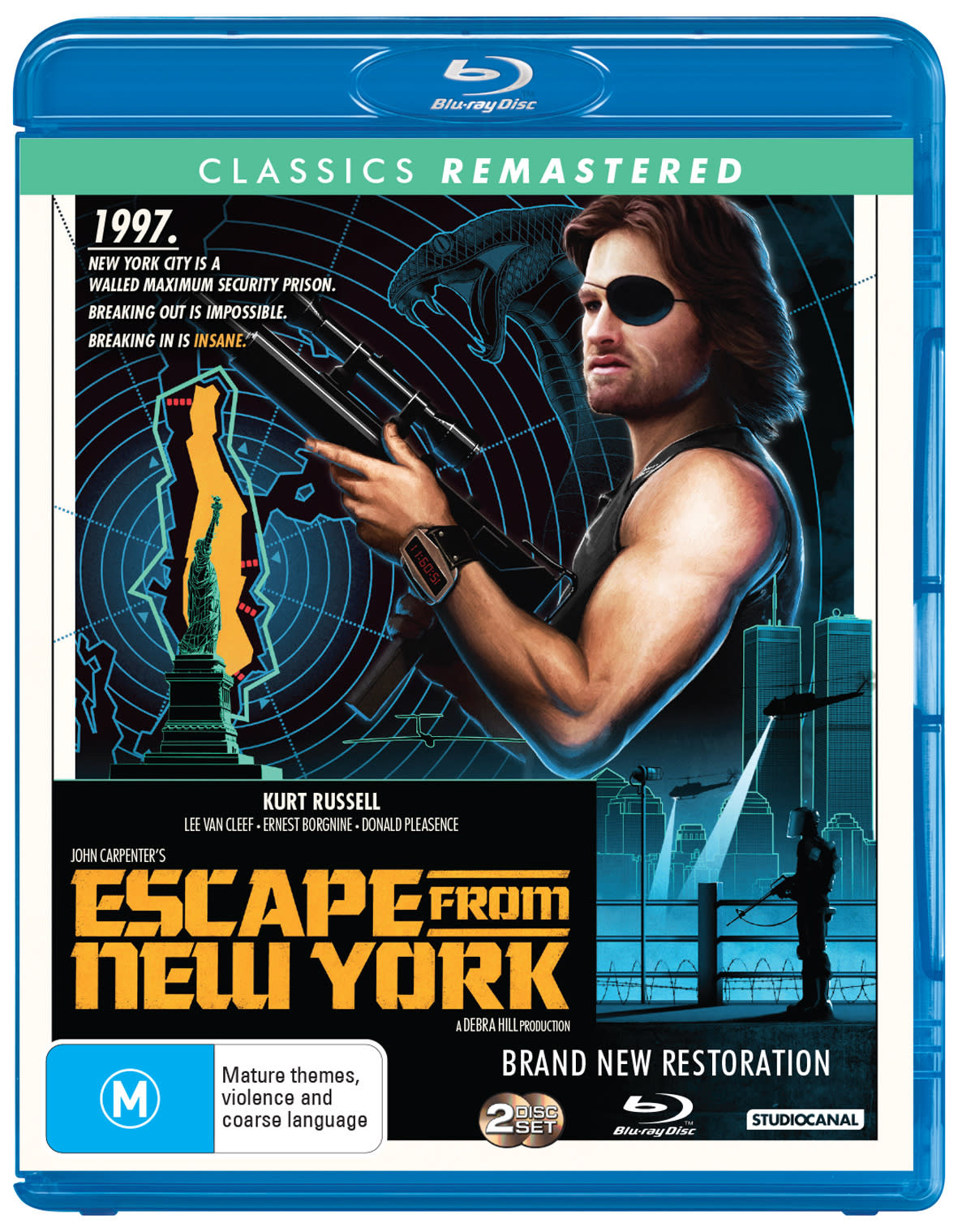 John Carpenter's escape from New York                             [Blu-ray]