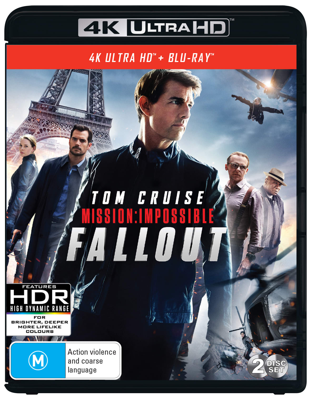 Mission: Impossible - Fallout (4K Ultra HD + Blu-ray) [UHD]