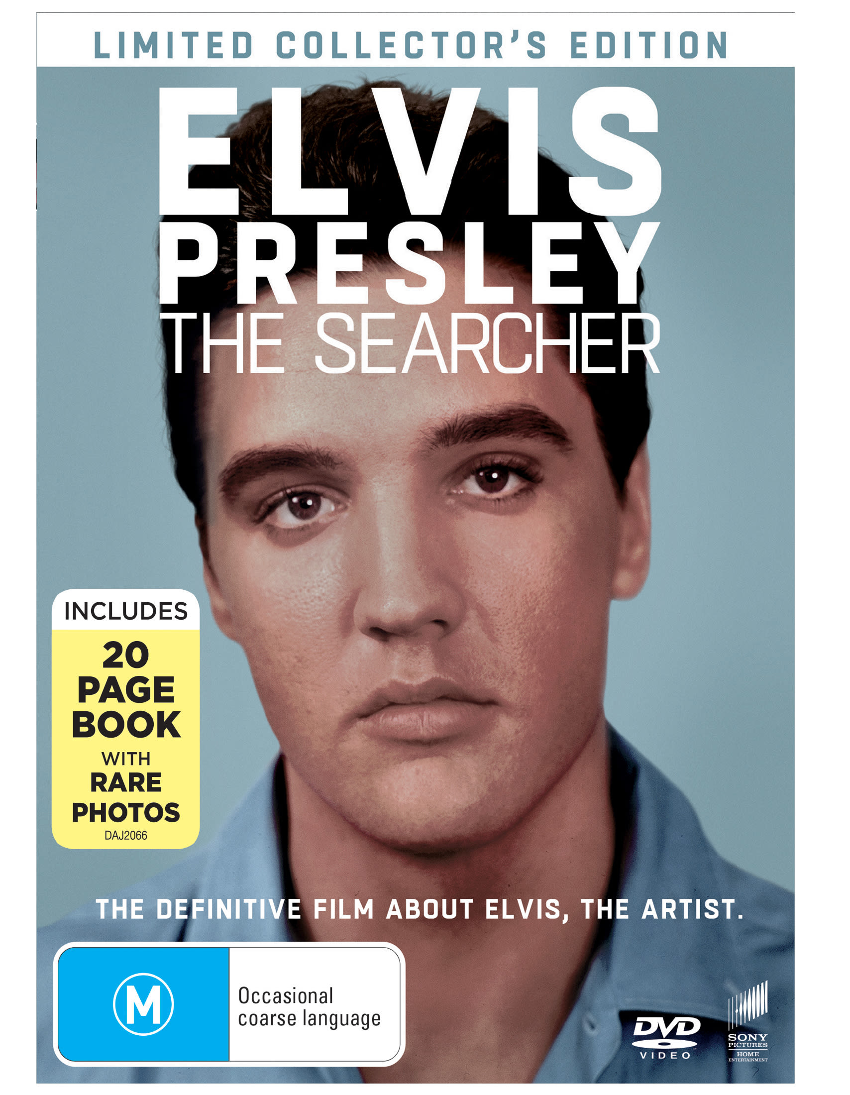 Elvis Presley: The Searcher (with Book (Limited edition)) [DVD]