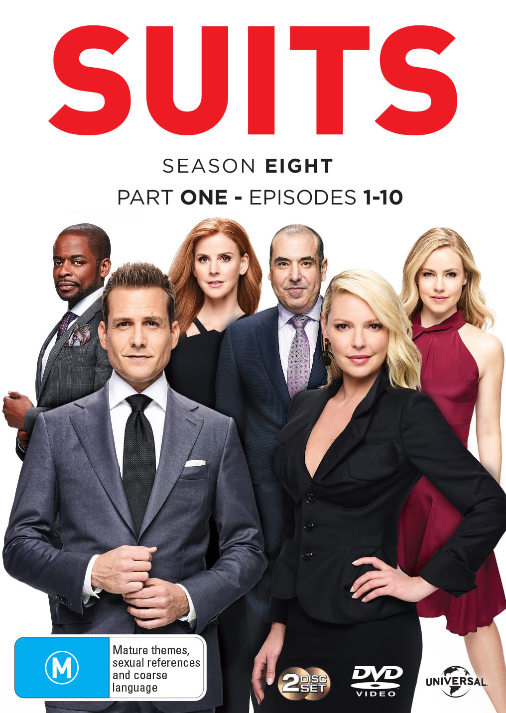 Suits: Season Eight, Part One [DVD]