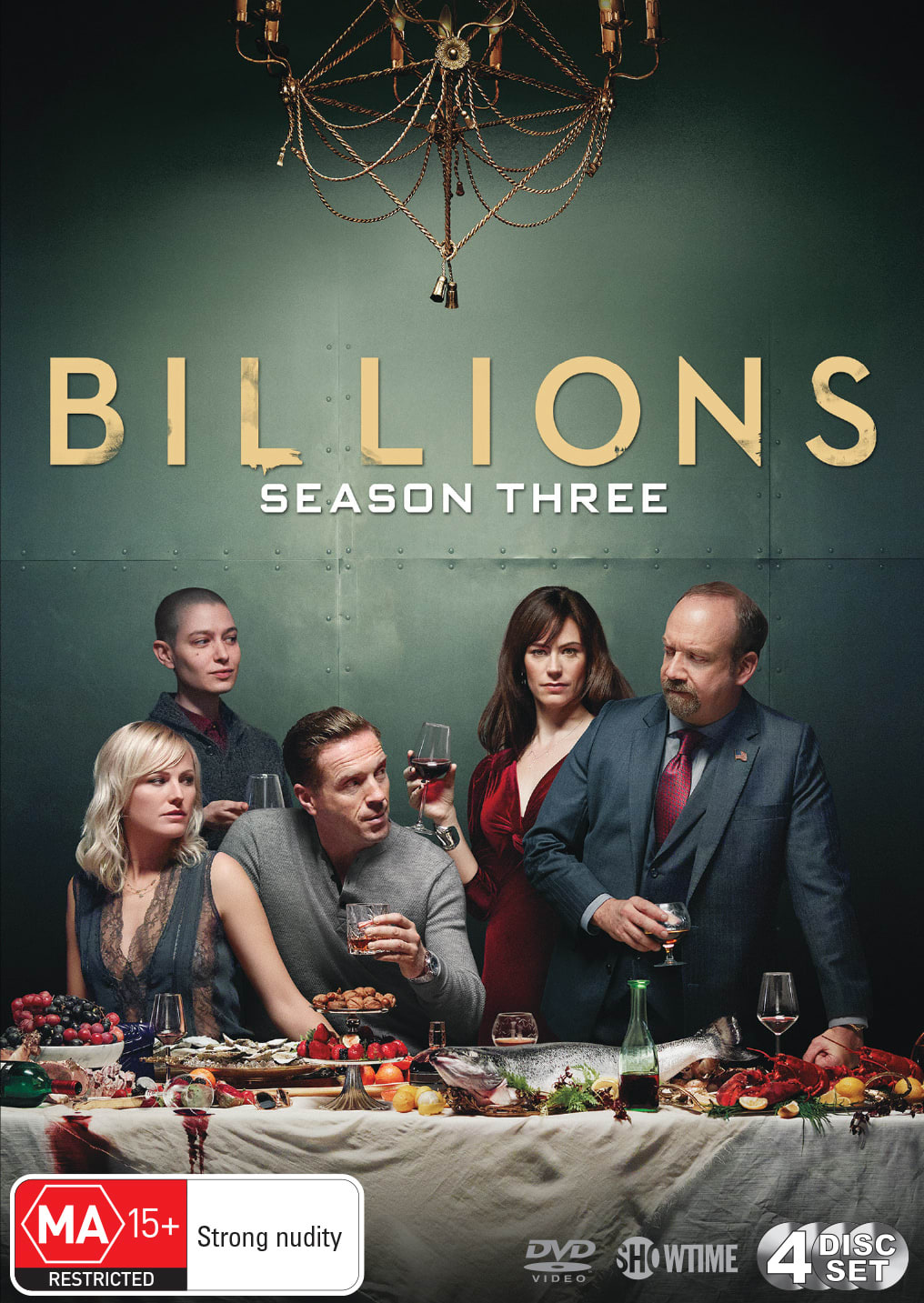 Billions: Season Three (Box Set) [DVD]