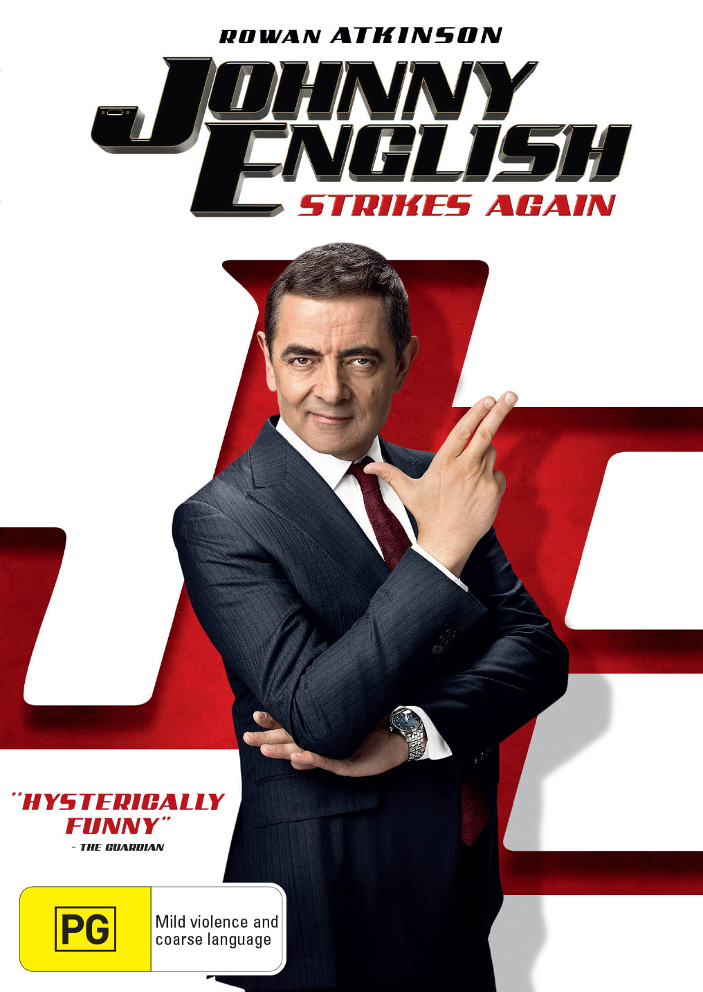 Johnny English Strikes Again [DVD]