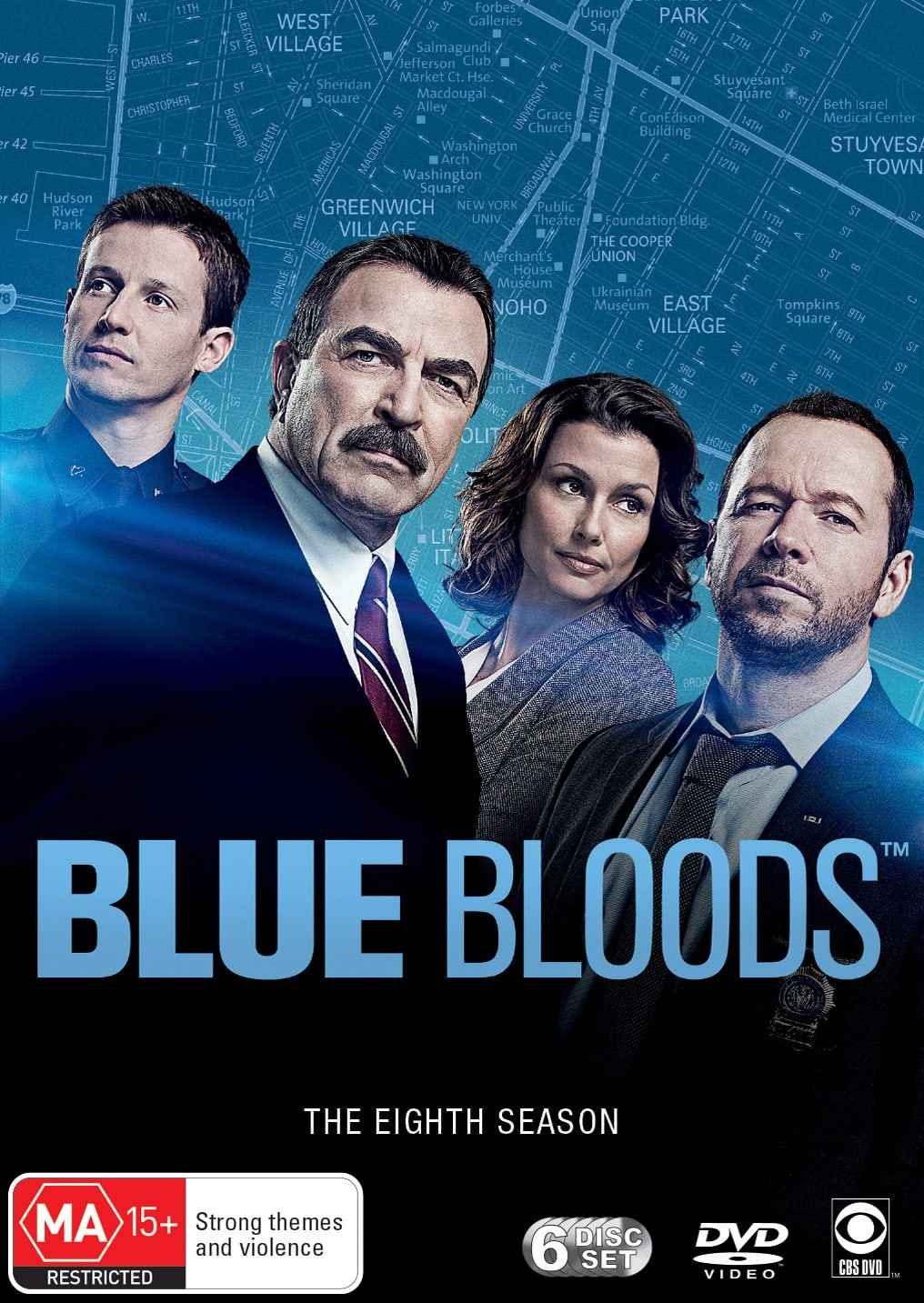 Blue Bloods: The Eighth Season (Box Set) [DVD]