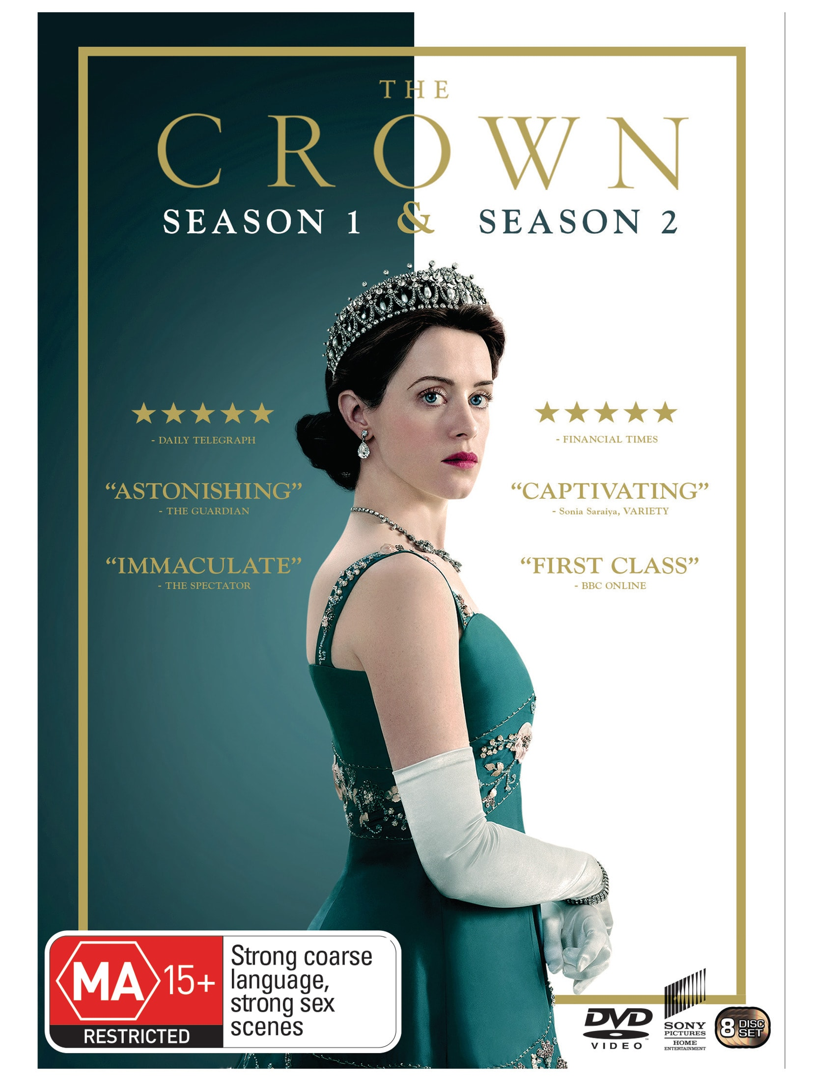 The Crown Season 1 & 2 Box Set [DVD]