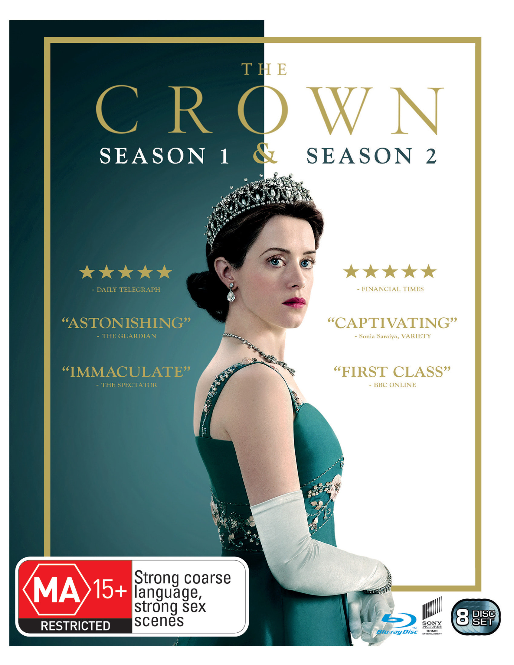 The Crown Season 1 & 2 Box Set [Blu-ray]