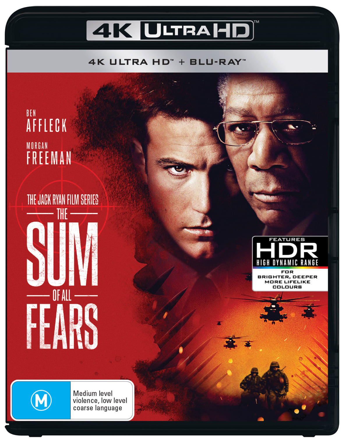 The Sum of All Fears (4K with Blu-ray) [UHD]