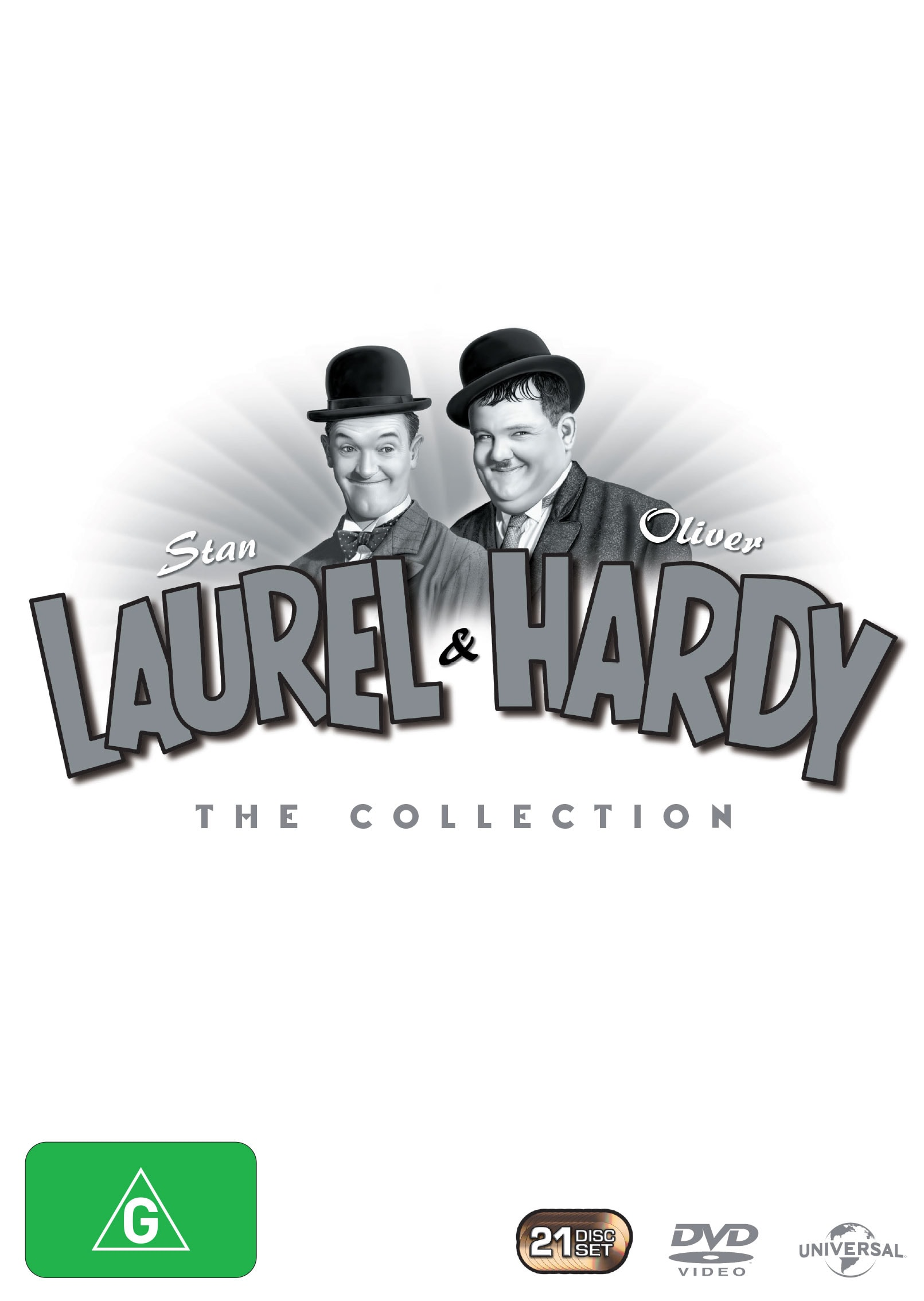Laurel and Hardy: The Collection (Box Set) [DVD]