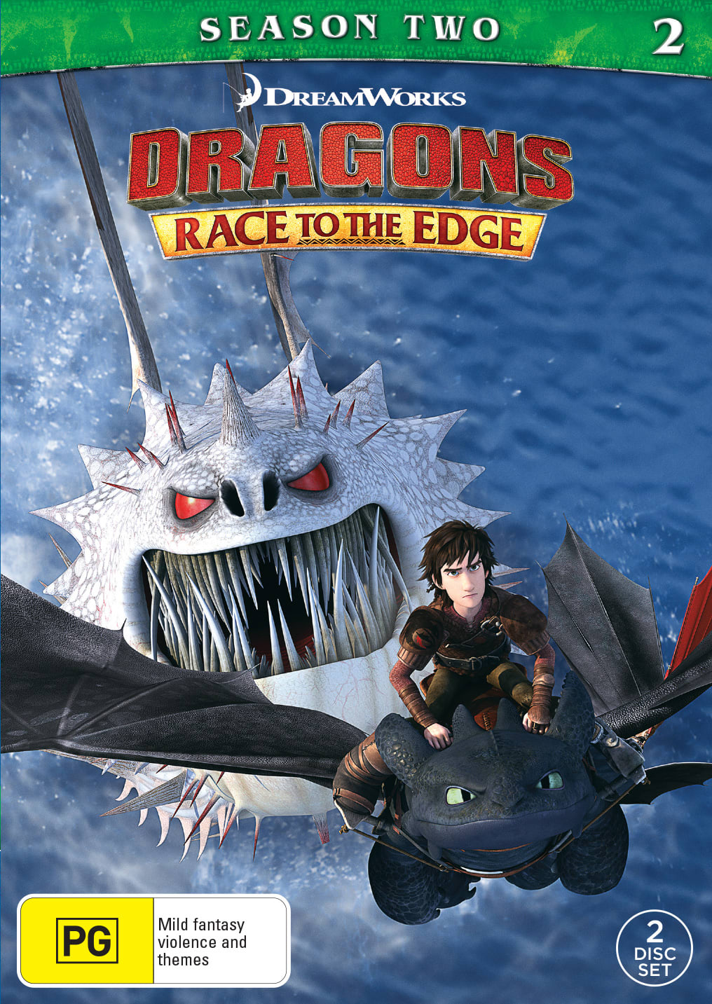 Dragons: Race to the Edge - Season 2 [DVD]