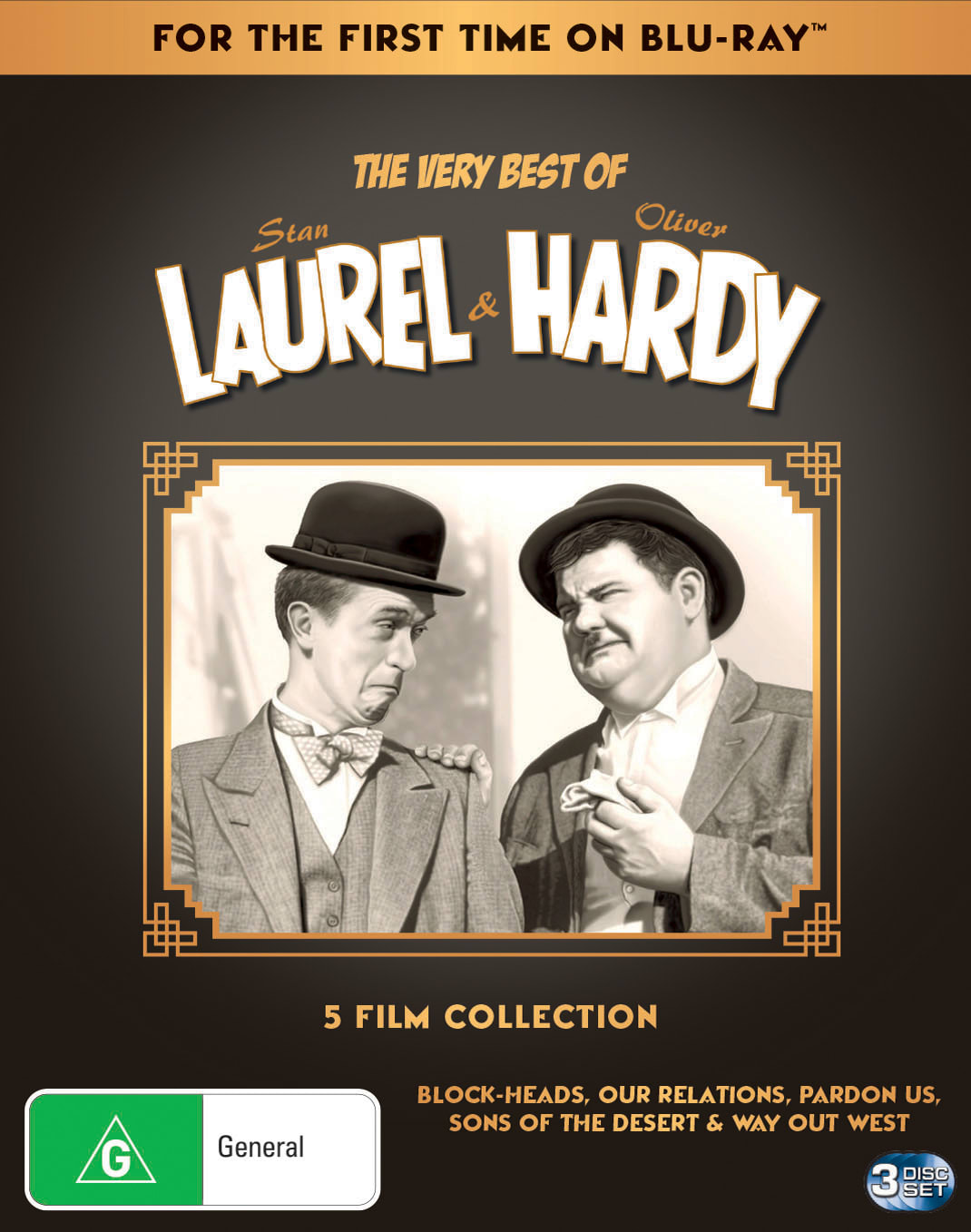 Laurel & Hardy Remastered Collection (Box Set) [DVD]