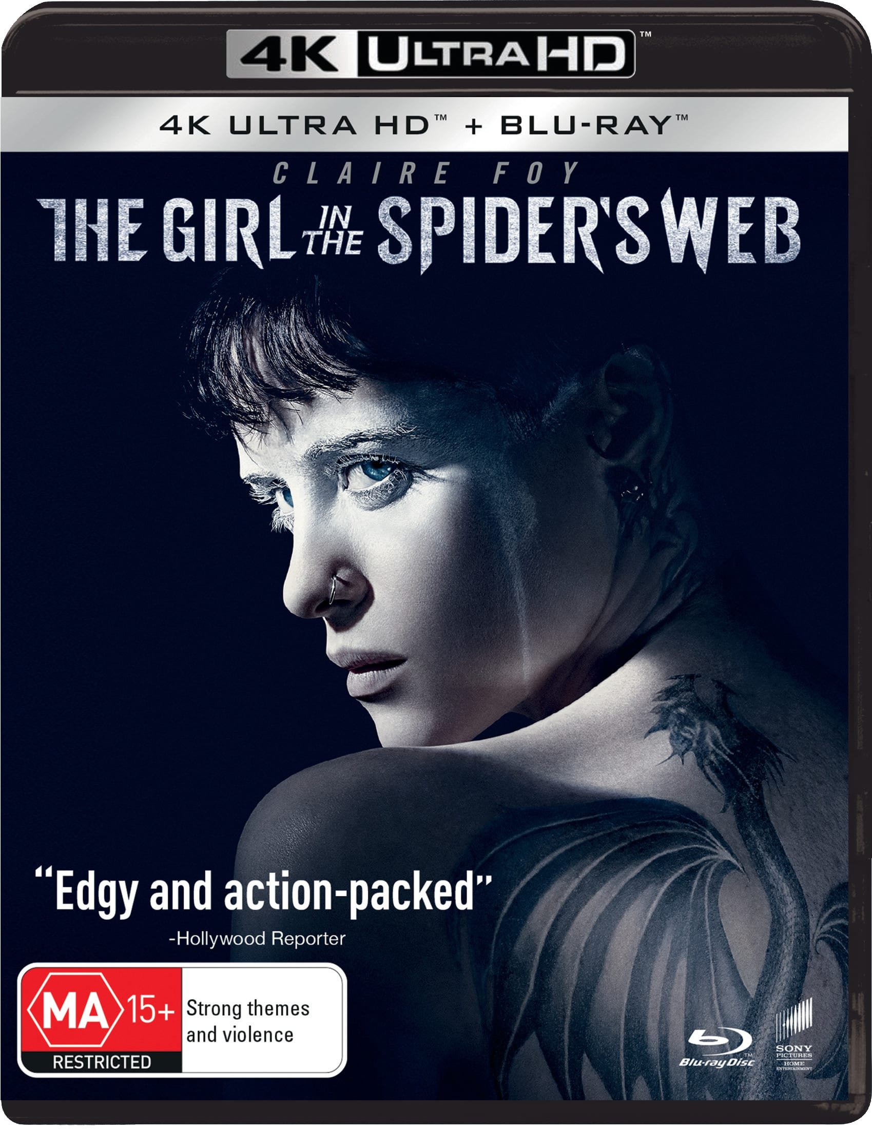 The Girl in the Spider's Web (4K Ultra HD + Blu-ray) [UHD]