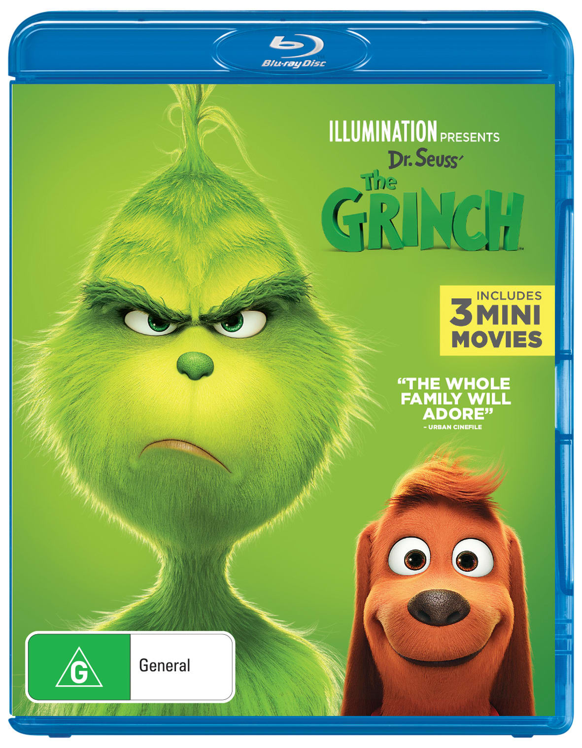 The Grinch (2019) [Blu-ray]