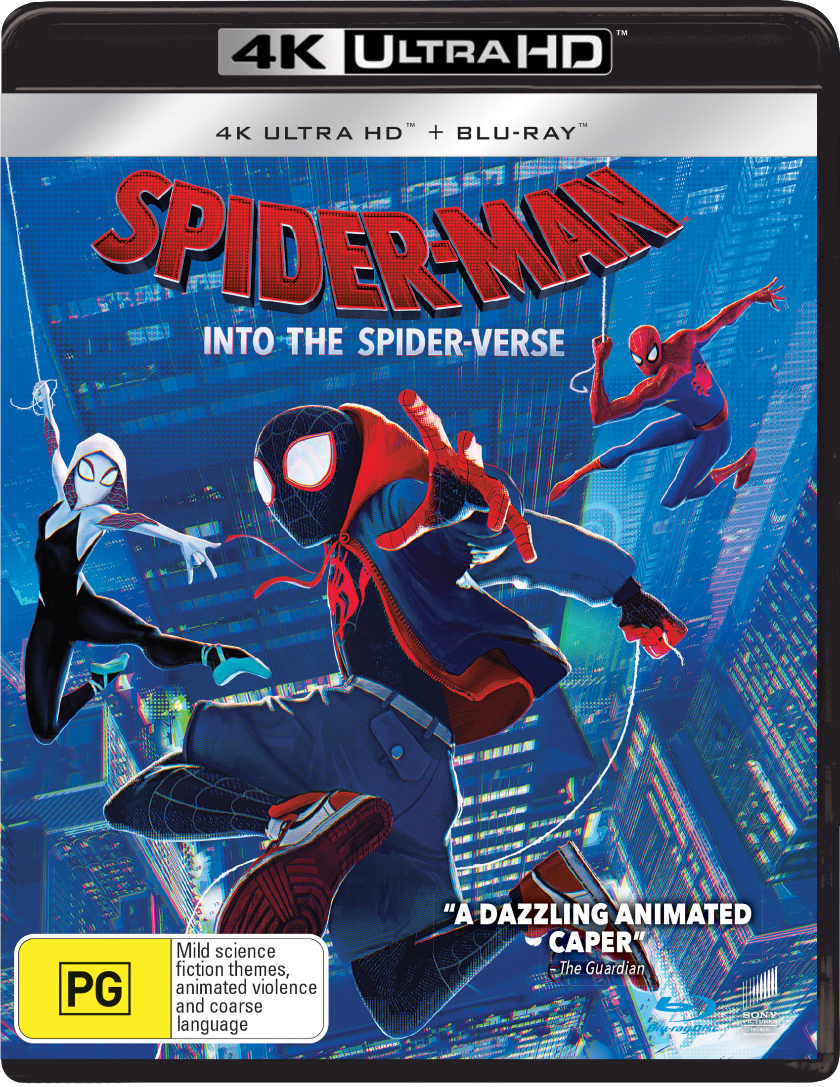 Spider-Man: Into the Spider-verse (4K Ultra HD + Blu-ray) [UHD]