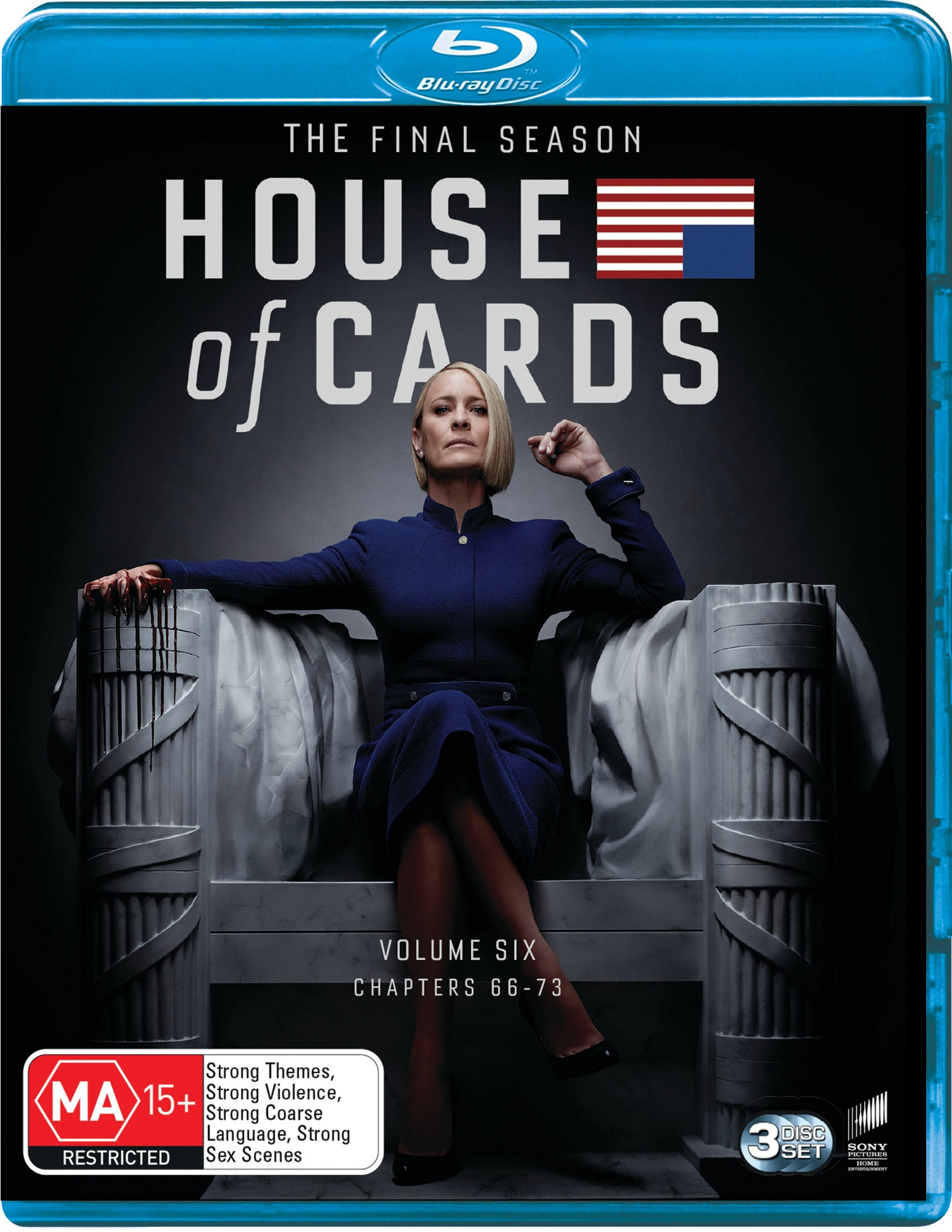 House of Cards: The Complete Final Season (Box Set) [Blu-ray]