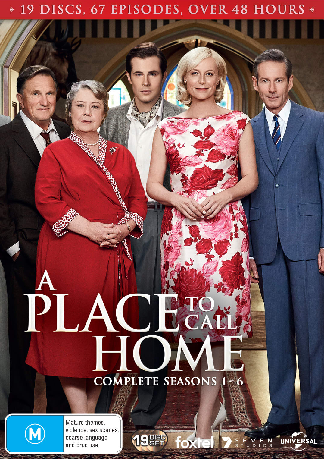 A Place to Call Home: Complete Series One to Six (Box Set) [DVD]