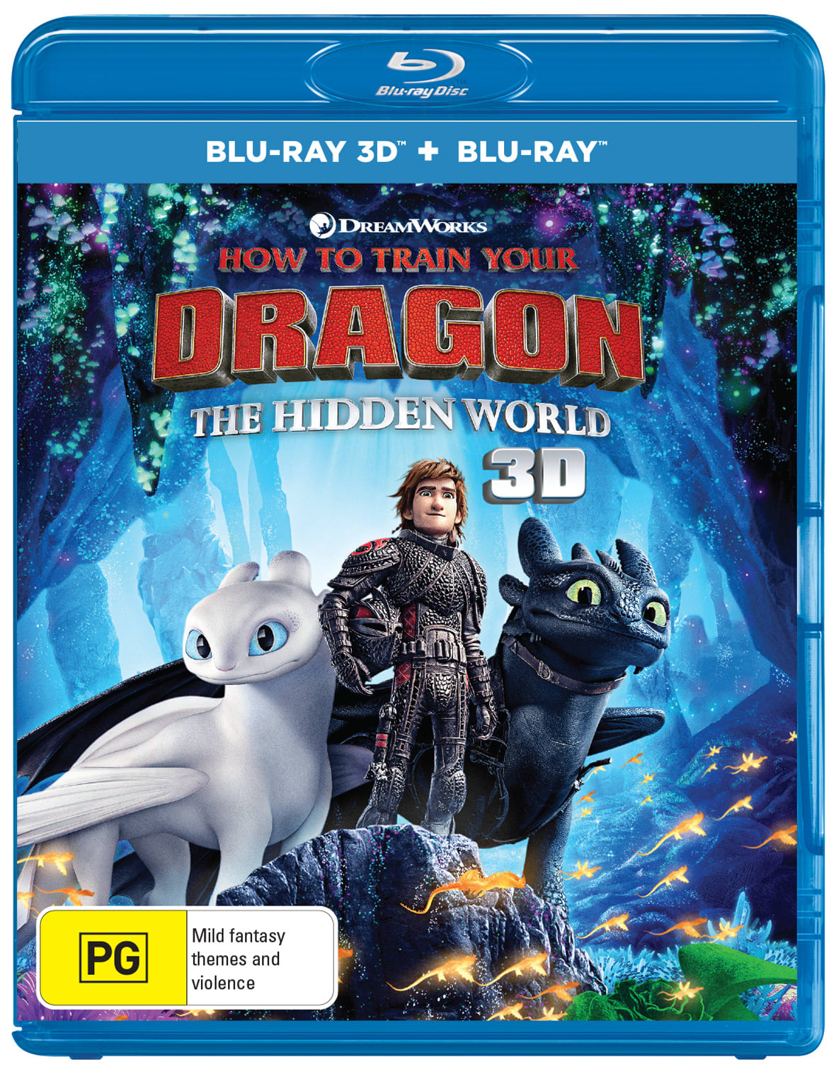 How to Train Your Dragon - The Hidden World (3D Edition with 2D Edition) [Blu-ray]
