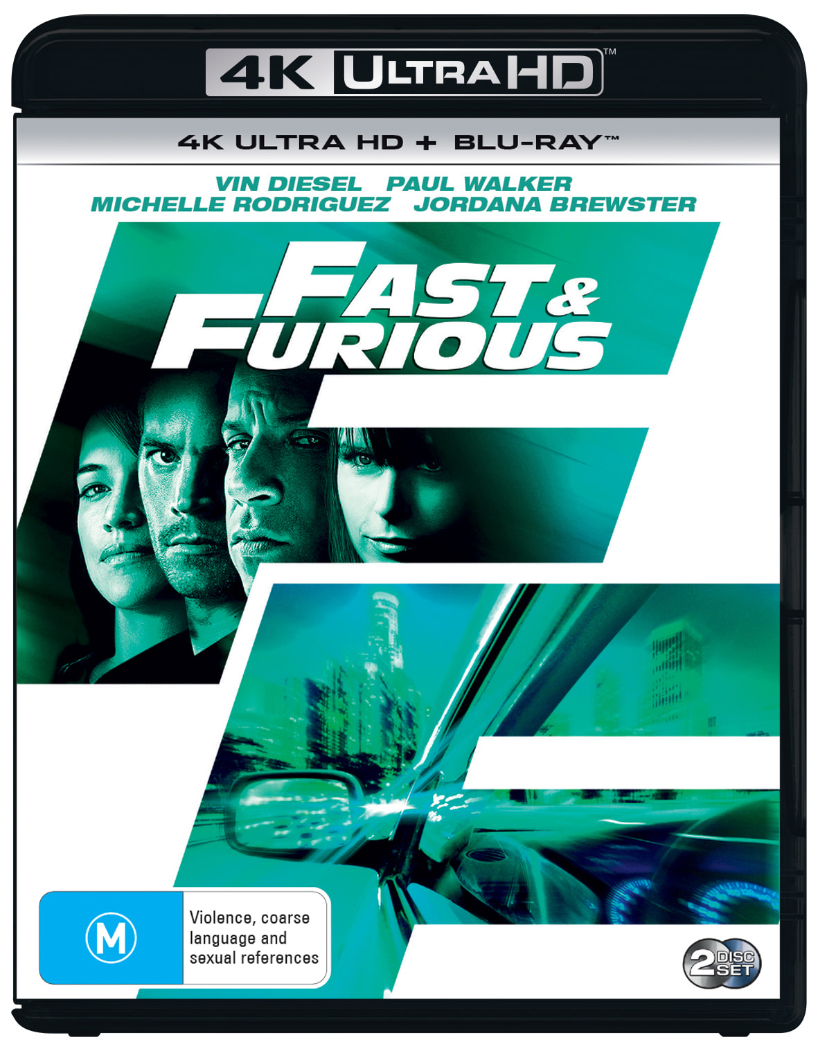 The Fast & the Furious 4                                 [UHD]