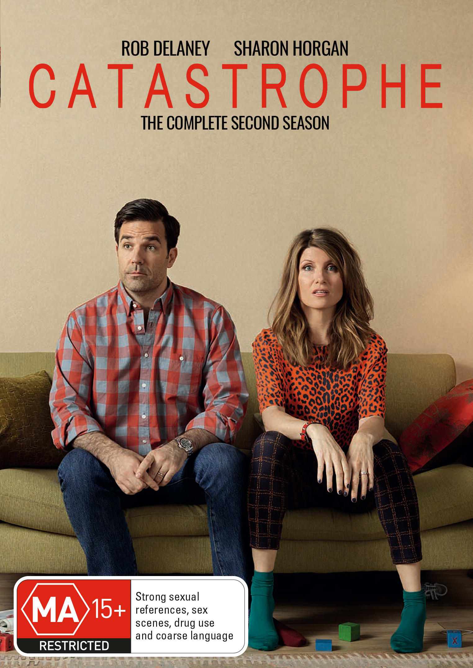 Catastrophe: The Complete Second Season [DVD]