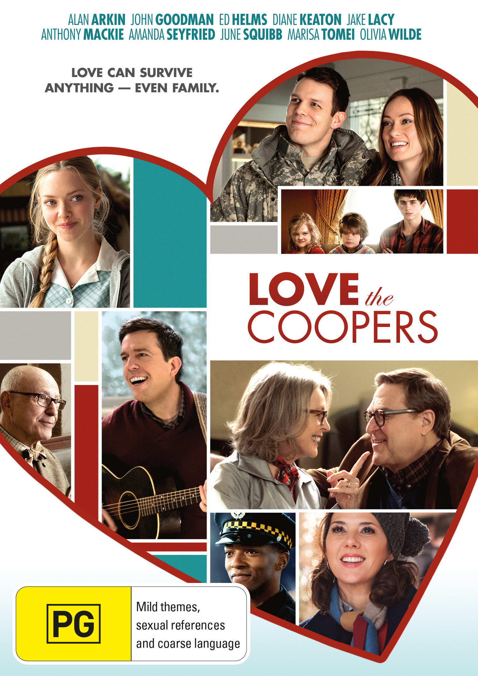 Love the Coopers [DVD]