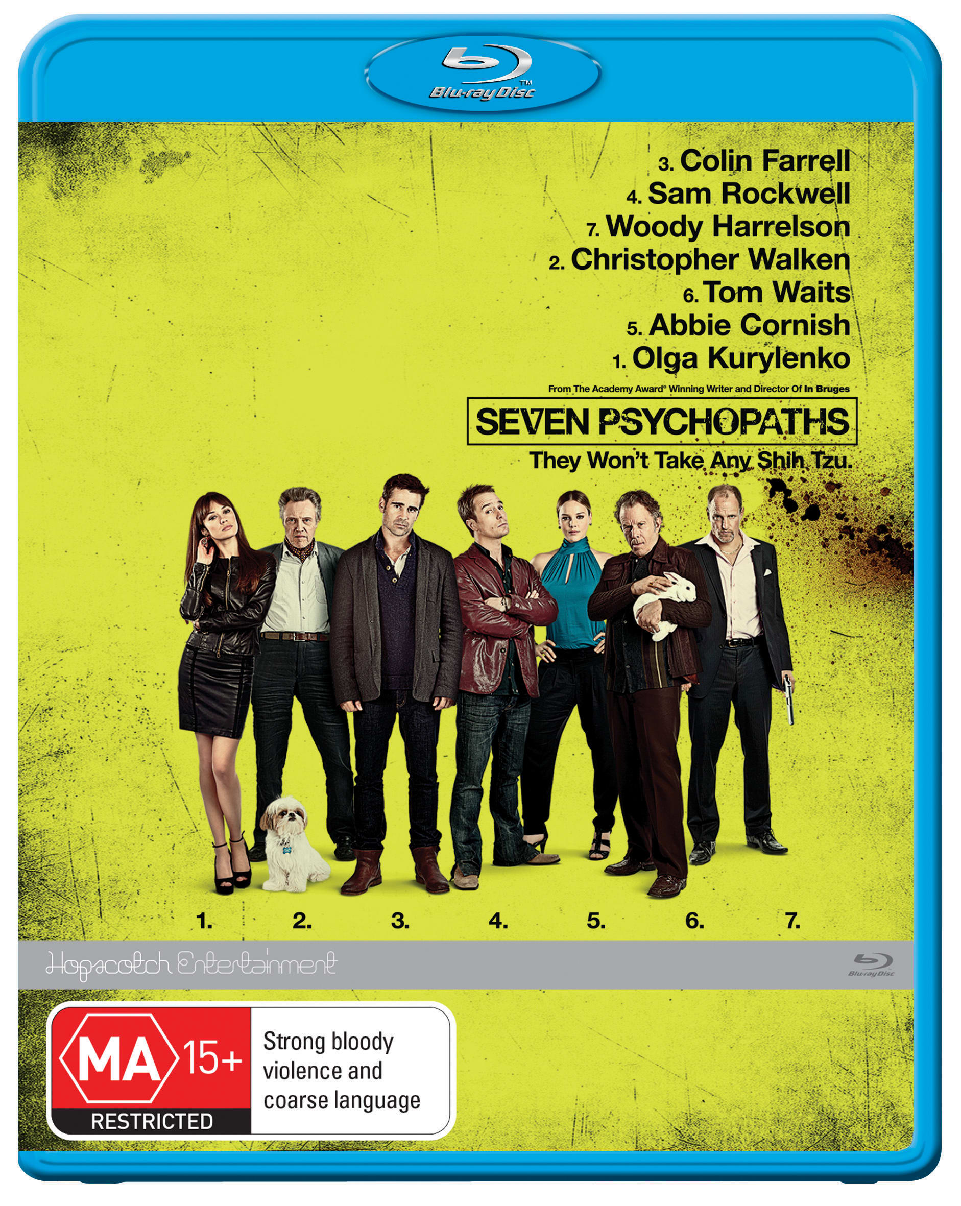 Seven Psychopaths [Blu-ray]