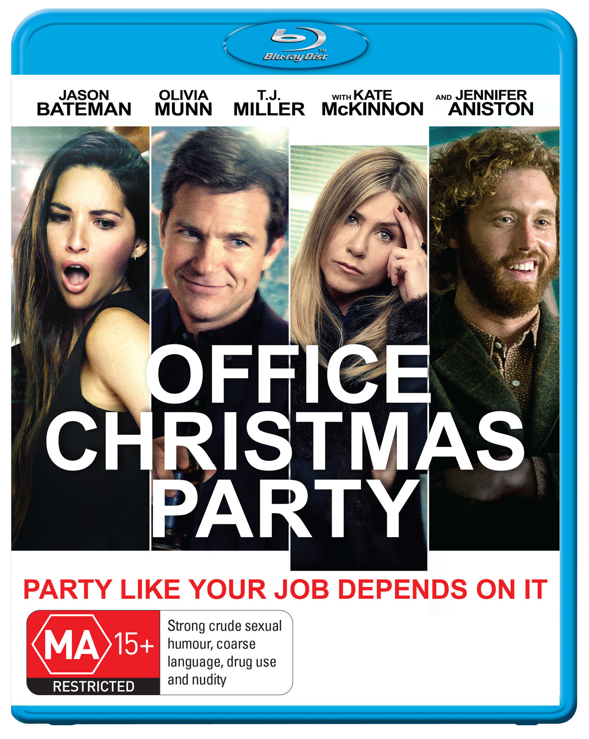 Office Christmas Party [Blu-ray]