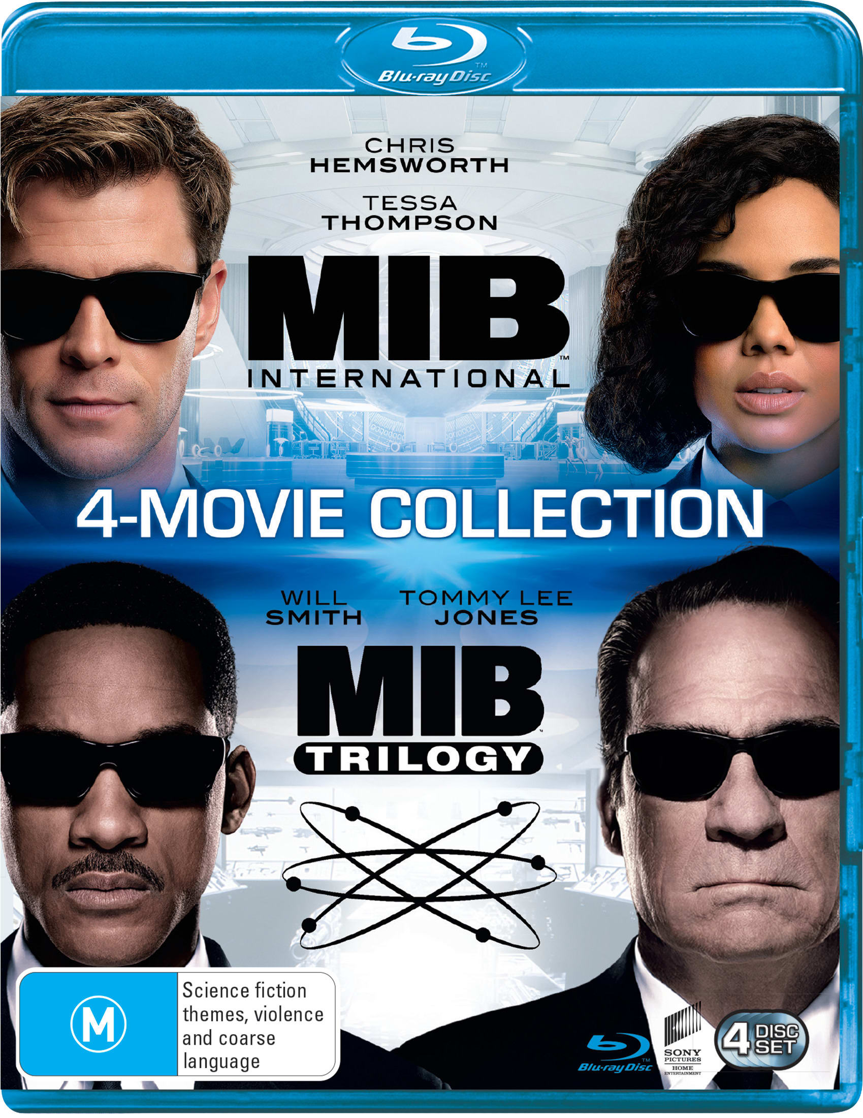 Men in Black 1-4 (Box Set) [Blu-ray]