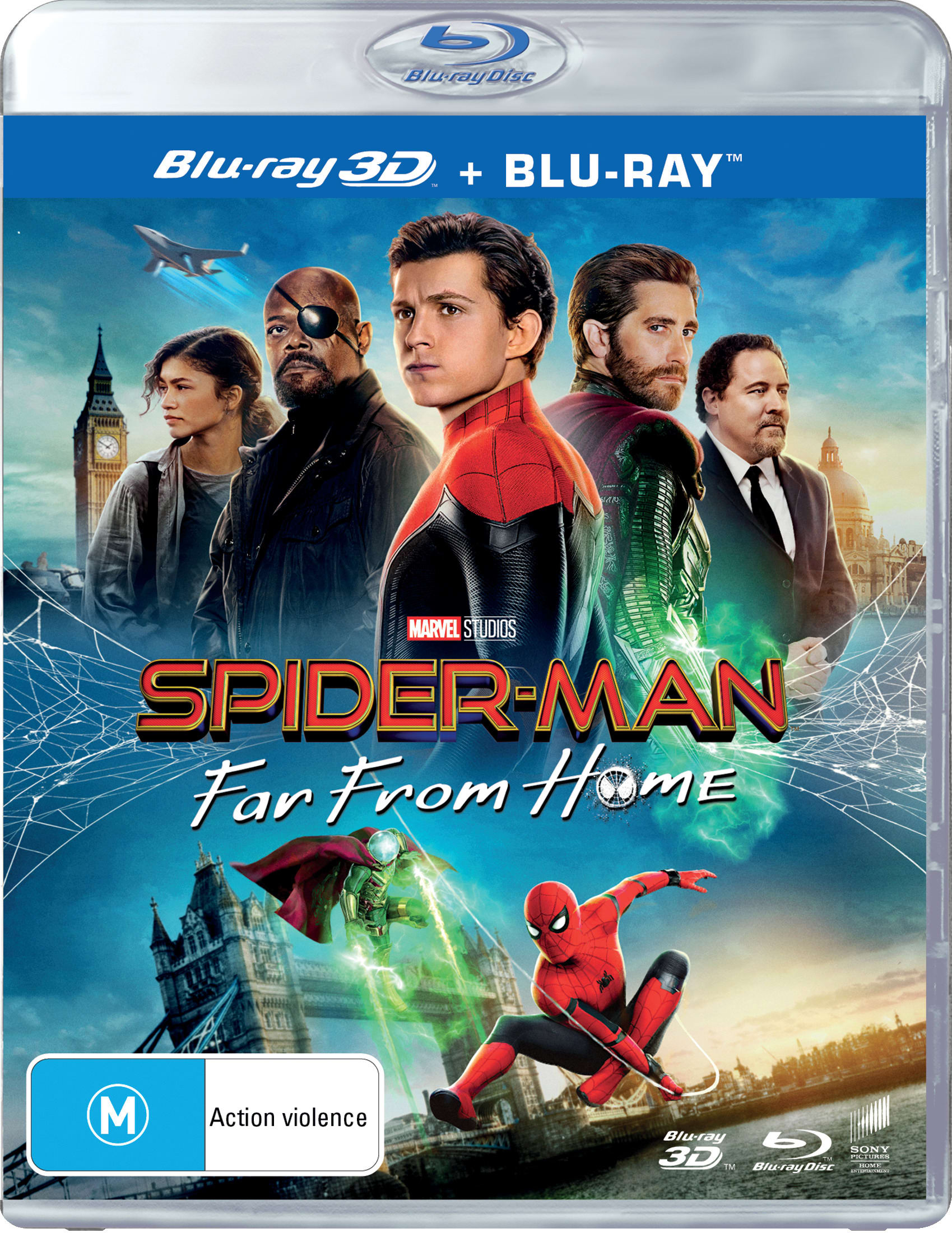 Spider-Man: Far from Home (3D Edition with 2D Edition) [Blu-ray]