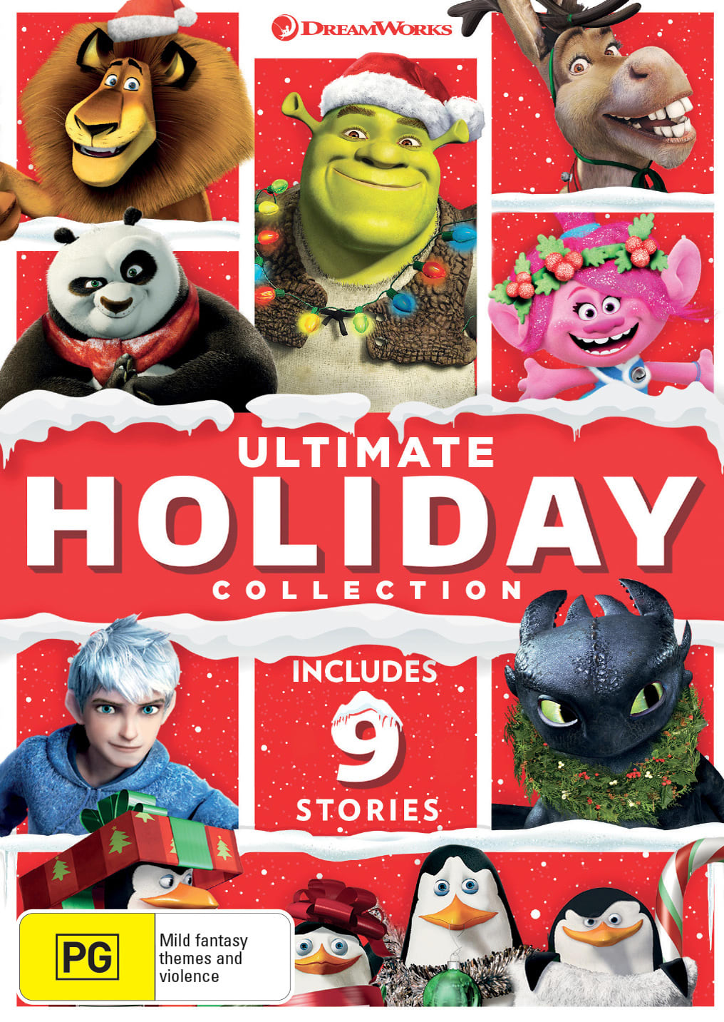 Dreamworks Ultimate Holiday Collection [DVD]