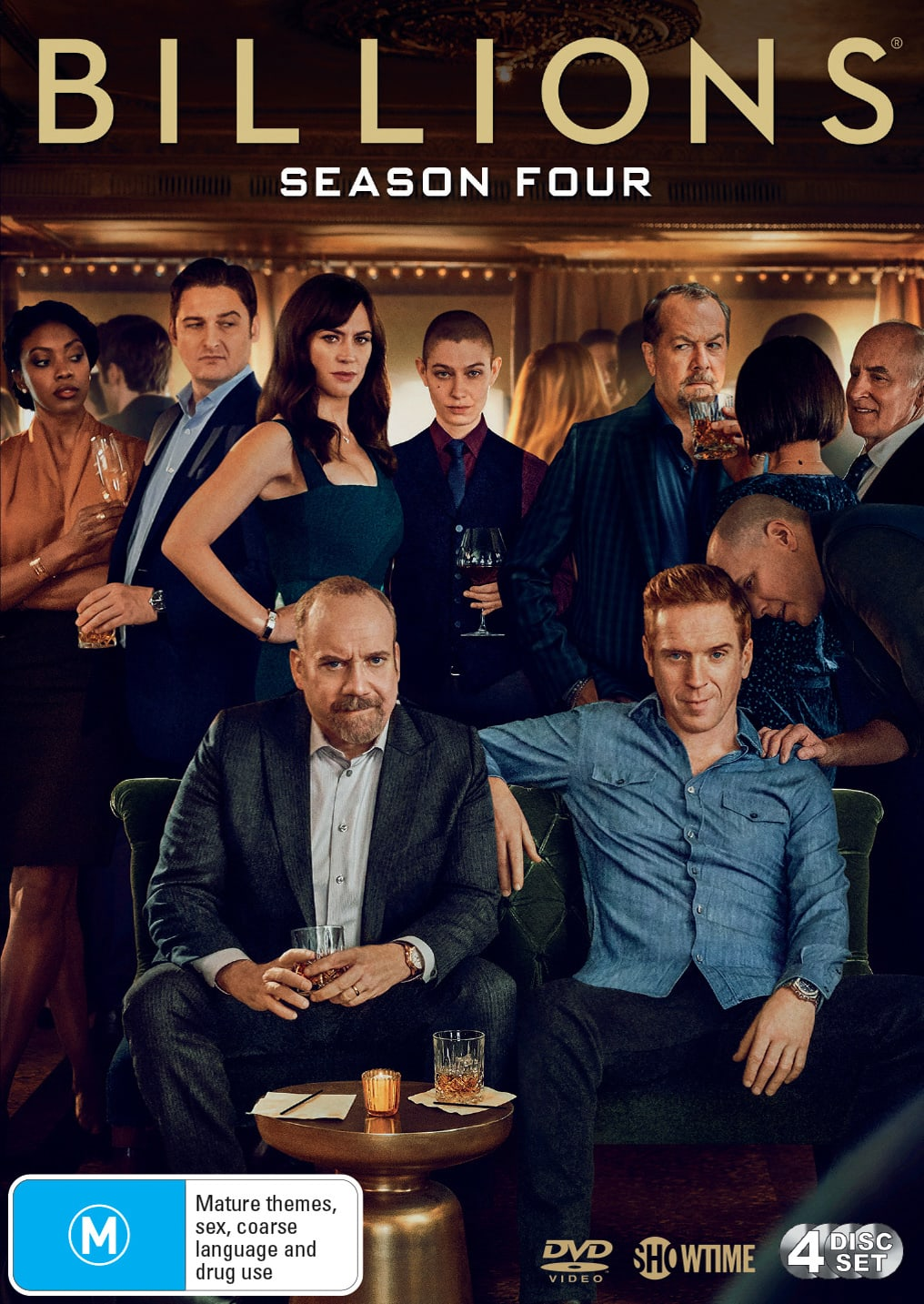 Billions: Season Four (Box Set) [DVD]