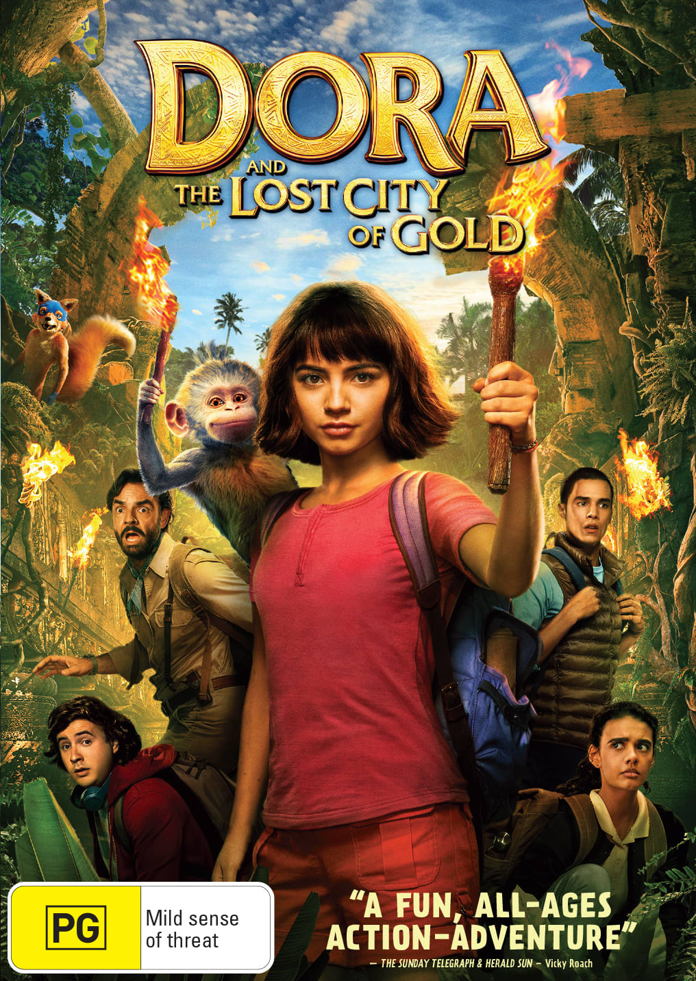 Dora and the Lost City of Gold [DVD]