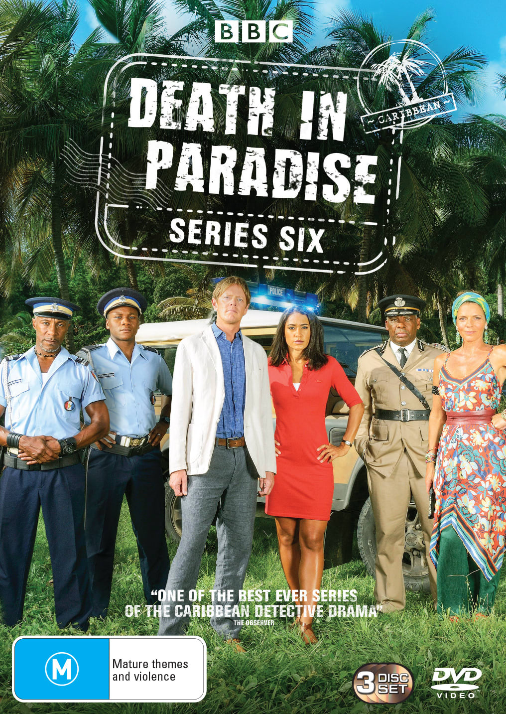 Death in Paradise: Series Six (Box Set) [DVD]