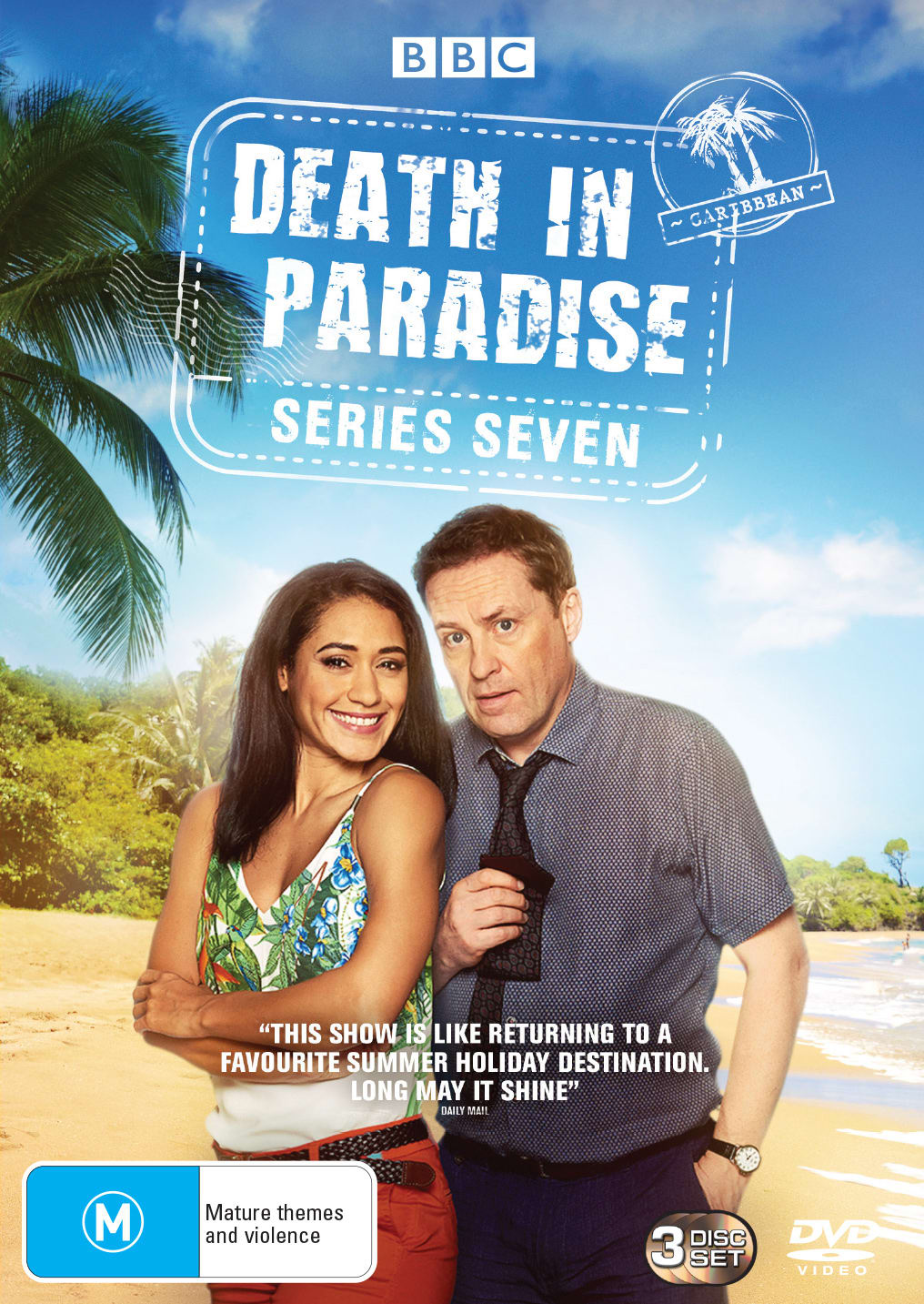 Death in Paradise: Series Seven (Box Set) [DVD]